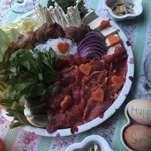 最後に収穫した春菊で主人がリクエストした料理