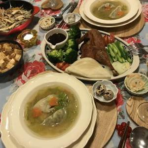 旧正月に久しぶりに中華料理を作りました♪