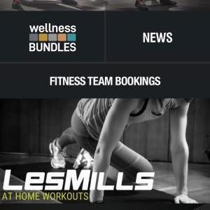 Stay at Home中はスポーツクラブのアプリでLesmillsエクササイズ無料