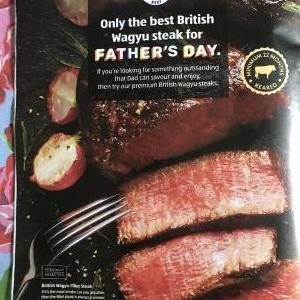 今週はベスト・英国・和牛ステーキがお買い得☆