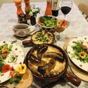 英国家庭料理で一番お手軽なオーブン料理と言えば・・・