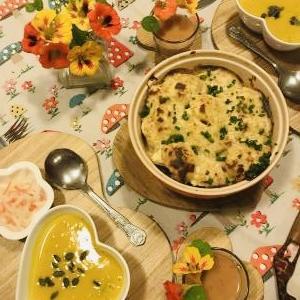 我が家で一番よく作る英国家庭料理カリフラワーチーズをアレンジ♪