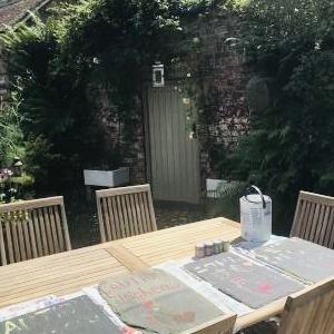 真夏日にお庭で楽しんだ作業♪