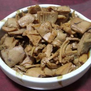 奈良県産? キハダマグロ のあら を使って、マグロの甘露煮 作りました~♪