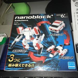 ナノブロック+ Ambulance~救急車