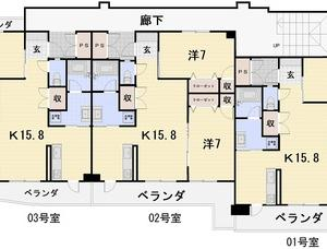 賃貸アパート 浦添市宮城4丁目 2LDK P2台付 8月末完成予定