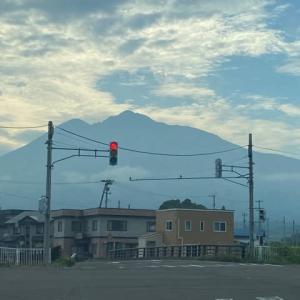 岩木山百沢から登って嶽に下りてきた
