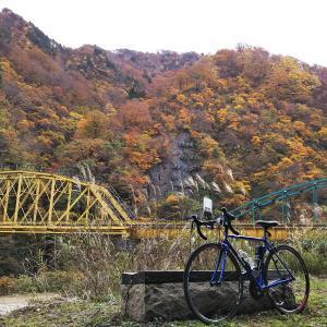 センチュリーライド 紅葉の赤芝峡165Kmサイクリング