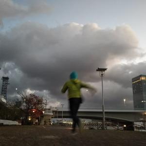 ジョギング2発