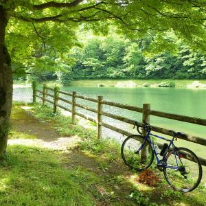 加茂市水源池までサイクリング100Km