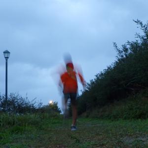 ジョギング 透明人間化