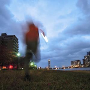 ジョギング3発 紅葉と透明人間