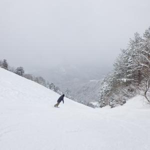 私をスキーに連れてって5回目 三川温泉スキー場