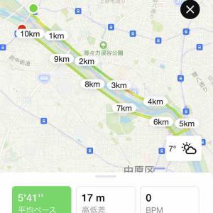 多摩川ラン & ラーメン