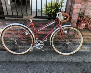 今日はお家で自転車改造