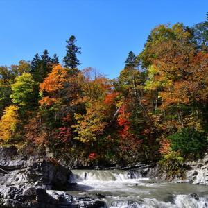 秋色散歩......7【三段滝】