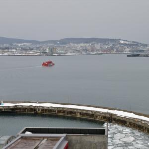 オホーツク海、冬散歩......1