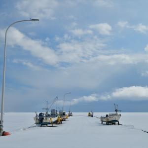 オホーツク海、冬散歩......3