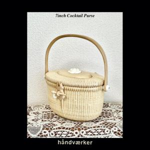 7inch Cocktail Purse with lid
