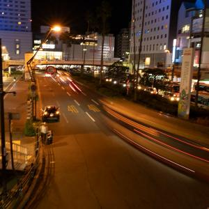 夜の徳島駅散策