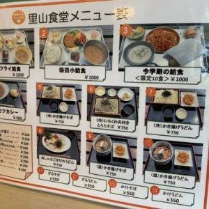 道の駅保田小学校の里山食堂