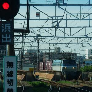 最近の川崎貨物と、惜別札沼線その19 南下徳富駅(2月14日)