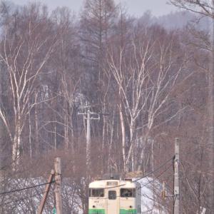 惜別 札沼線その23(最終回)知来乙ー石狩月形駅、他(2月19日)