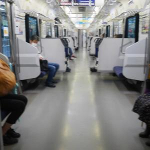 やっと遭遇の緑の電車@東急池上線