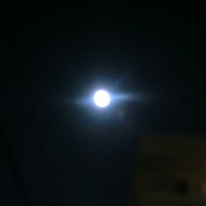 満月だった
