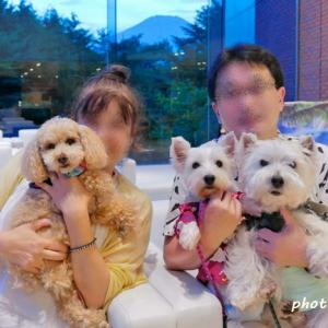 家族写真。集合写真のありがたさ。 ☆ 夏の旅行にて