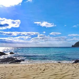 国頭村安田のローカルビーチ