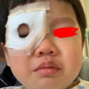 息子の内斜視手術 無事に終わりました