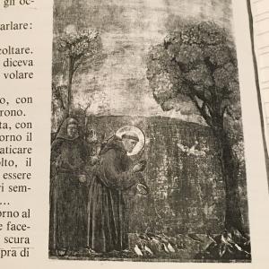 絵を描かせるイタリアの小学校