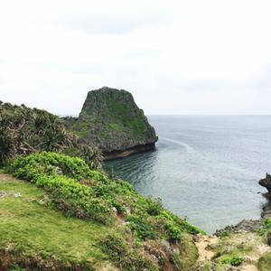 真栄田岬(青の洞窟)も外国人観光客がいっぱい!