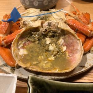 城崎温泉蟹食べに親孝行の旅