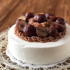 モンブランバースデーケーキ