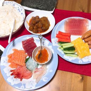 ☆手巻き寿司☆
