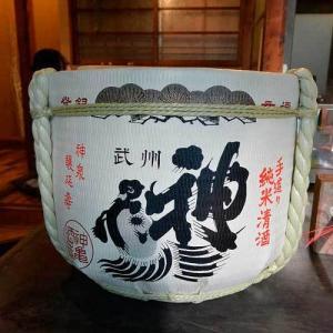【(山梨グルメ)新春イベント!!韮崎市「コワン」で「神亀」の樽酒を呑む!!】