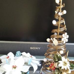 可愛いクリスマスツリー作りました