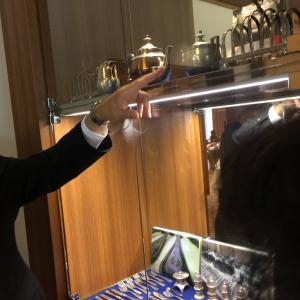 奈良ホテルの三笠の間でフレンチ③