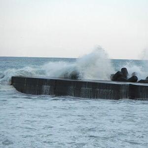 大波です!