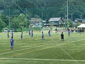 サッカー観戦!