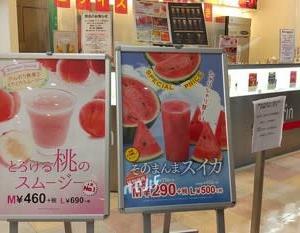 スイカジュース 果汁工房果琳