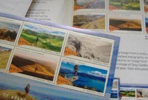 トレイル切手