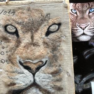 骨折記念の刺繍作品❣️