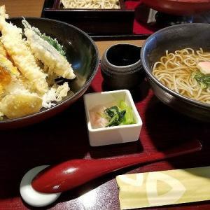 ◆天丼とお蕎麦のセットを
