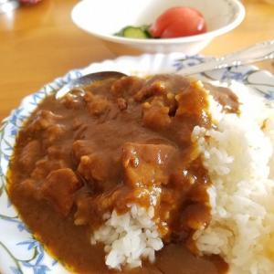 ◆カレーの夕飯