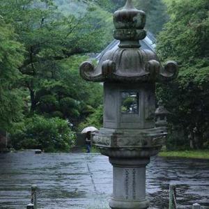 ◆あじさいのお寺で