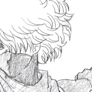 「銀魂」で終兄さん&カポエラー(&鬼滅の刃 善逸くん落書き)