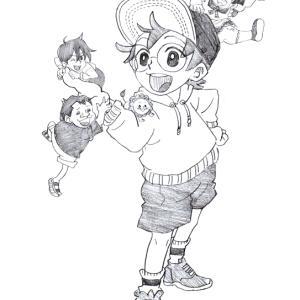 「僕とロボコ」でボンドくん&ロボコちゃん&モツオくん&ガチゴリラくん&ニョンタ